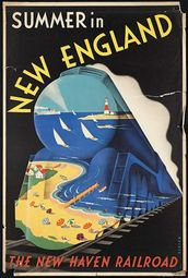 New Haven RR poster